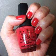 OPI - Paint my mojitoes red...too bad it was discontinued.