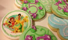 Tinkerbell cookies @ Ally's Cookie Jar