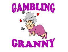 Custom Made T Shirt Gambling Granny Casino Slot Slots Choice Woman Machine NWOT #Unbranded #PersonalizedTee