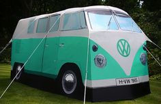 for the HORNES .  Volkswagen Camper Tent | The Post Social