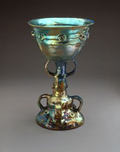 Lustre-glazed Chalice by Beatrice Wood
