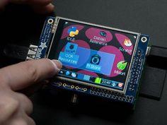 現在在庫切れです。Raspberry Pi用2.8インチ TFTモニタ特別セット Physical Computing Lab