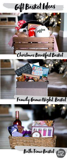 6 Gift Basket/Hostess Gifts #giftbaskets