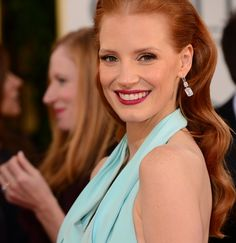 """Jessica Chastain has been a stunner on the red carpet for as long as we can remember, and tonight at the 70th annual Golden Globes, the """"Zero Dark Thirty"""" actress... Read More >>"""
