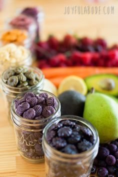 Dehydrator fruit and vegetable snacks