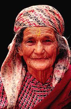 """""""old woman, nepal""""   nilsingemar on Flickr"""