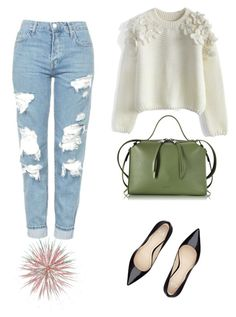 """My basic® n•9"" by bibidm on Polyvore featuring mode, Chicwish, Topshop et Jil Sander"