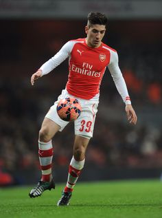 Hector Bellerin of Arsenal FC Arsenal Fc, Arsenal Soccer, Football Is Life, Football Soccer, Match Of The Day, Best Club, Gareth Bale, Soccer Players, Premier League