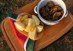 Szőlőhegyi birkapörkölt | Nemzetikonyha receptje - Cookpad receptek Pudding, Beef, Dishes, Desserts, Food, Red Peppers, Meat, Tailgate Desserts, Deserts