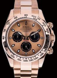Rolex Daytona 18ct Rose Gold watch R369,000.00 On topwatch.co.za Luxury Watches, Rolex Watches, Rolex Daytona, Luxury Shop, Chopard, Watch Sale, Watches Online, Breitling, Gold Watch