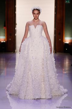 georges hobeika #couture #wedding dress spring 2014 #couture #fashion #bridal #weddingdress #weddings More at http://weddinginspirasi.com/2014/01/27/georges-hobeika-spring-2014-couture-collection/