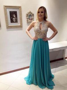Long Beaded Hater Vintage Elegant Ball Gown Custom Prom Dresses Online.  AB015 272b3bde9