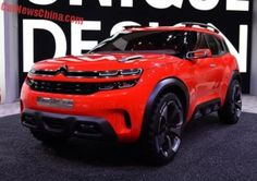 Citroen Aircross concept debuts on the Shanghai Auto Show in China +http://brml.co/1OBF88Q