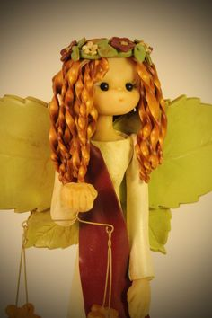 Libra Fairy by fairiesbynuria on Etsy, $39.95