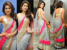 Bollywood and South Indian actress Shraddha Das in beautiful grey designer plain…
