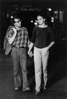 Woody Allen and Mariel Hemingway in Manhattan, 1979 — Brian Hamill
