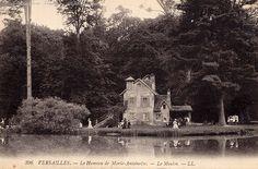 A vintage photograph (circa 1913) of Marie Antoinette's hamlet.