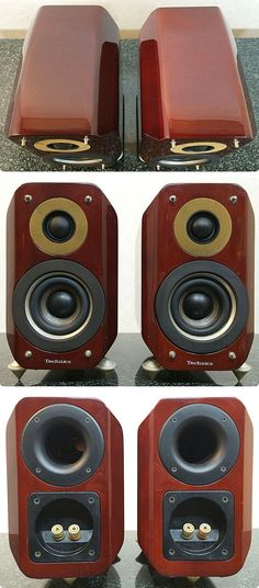 Vintage Audio Technics SB-M01 Speakers 1998.