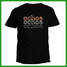 Idakoos Ochoa repeat retro - Last Names - T-Shirt - Retro shirts (*Amazon Partner-Link)