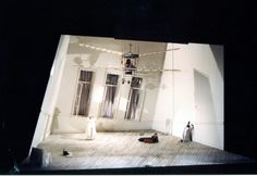 "Roni Toren Stage Design OPERA: ""Tales Of Haffmann"" / Offenbach 1989 / 1996 The New Israeli Opera , Tel-Aviv , Israel. Conductor : Marc Sostro Director : David Alden Costumes : Buki Shiff Lighting : Bryan Haris Photo : Vladimir Godnik"
