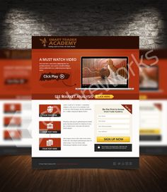 Smart Trade Academy Squeeze Page, Watch Video, Text You, Marketing