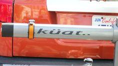 Küat bike racks. Based in Springfield, MO; no explanation of name or umlaut.