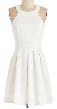 sweet white dress http://rstyle.me/n/vxmp2pdpe