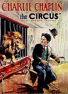 charlie chaplin the circus 1928 poster