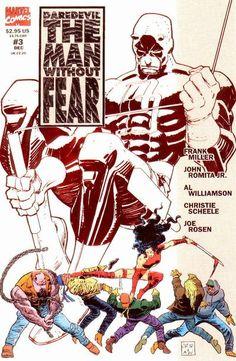 Daredevil: The Man Without Fear # 3 John Romita Jr. & Al Williamson