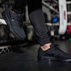Nike Air Max Noir Et Blanc 1 Ultra Rapide Entrepôt De Formateurs