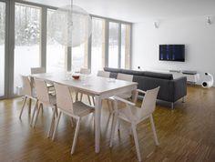 Moderner Stuhl / aus Buche / aus Eiche / Nussbaum - MERANO : 311 401 by Alex Gufler - TON a.s. - Videos