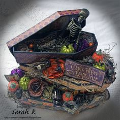 Scattered Pictures and Memories: An Eerie Tale Stacked Coffins and Mini Album - Part 1