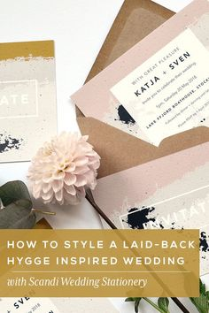 How to Style a Laid-back, Hygge Inspired Wedding