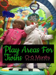 Twins take up alot of space! Setting up play areas for twins takes some thought as you figure out your space . Toddler Worksheets, Fun Worksheets, Kids And Parenting, Parenting Hacks, Newborn Activities, Newborn Twins, Newborns, Twin Halloween, Activity Mat