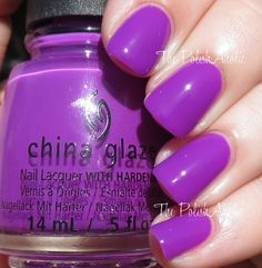 The PolishAholic: China Glaze Summer 2015 Electric Nights Collection Swatches & Review