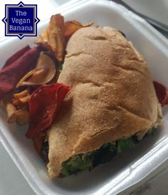 Portabello Mushroom Hoagie at Cashew Vegan Cafe