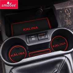 car Door groove mat For Lada Kalina Accessories 3D Rubber Car Mat Gate slot pad Non-slip mats Car decoration