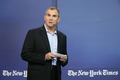 Frank Bruni Photos Photos - Op-Ed columnist, The New York Times, Frank Bruni speaks onstage during the New York Times Schools for Tomorrow conference at New York Times Building on September 17, 2015 in New York City. - New York Times Schools For Tomorrow - Day 2