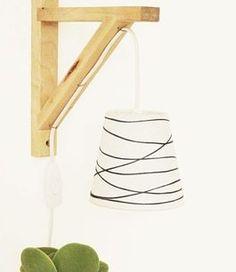 Tutoriale DIY: Cómo hacer una lámpara DIY de madera vía DaWanda.com