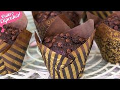 Cupcakes, Pamela, Tortillas, Breakfast, Desserts, Youtube, Food, Chocolate Chips, Cookie Recipes
