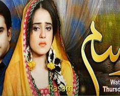 OST Rasam Song Lyrics Sahir Ali Baga