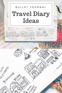 The scarlett chronicles 12 things most people dont think to a creative travel diary in my bullet journal since i never seem to have time for elaborate urban sketching while traveling i decided to just doodle and solutioingenieria Gallery