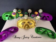 mardi gras princess cakes | Pin by Juana Soto on My Creations | Pinterest