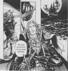 Castlevania manga(English)