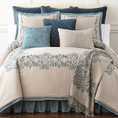 FREE SHIPPING AVAILABLE! Buy Royal Velvet Sienna 4-pc. Comforter Set at JCPenney.com today and enjoy great savings. Available Online Only!