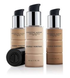 Makeup Tutorials & Makeup Tips : Merle Norman Perfecting Makeup Broad Spectrum SPF 25 Best High End Foundation, Spray Foundation, Airbrush Foundation, Makeup Foundation, Eye Makeup Tips, Diy Makeup, Makeup Ideas, Makeup Kit, Merle Norman Foundation