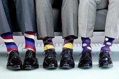 Homens que usam meias criativas são rebeldes, interessantes e bem sucedidos!