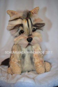 yorkshire terrier crochet