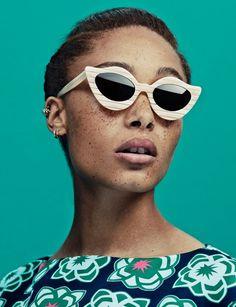 Adwoa Aboah, House of Holland, Black British Models, Black It Girls, Black Models