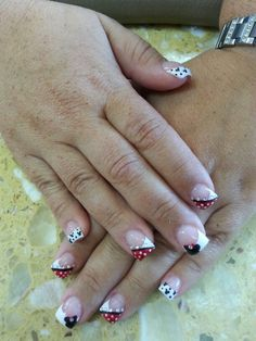 The Mickey Mouse nails designs